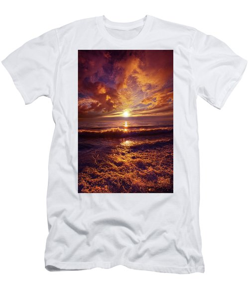 Men's T-Shirt (Slim Fit) featuring the photograph Toward The Far Reaches by Phil Koch