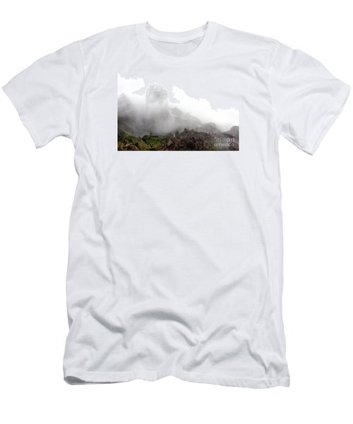 Men's T-Shirt (Slim Fit) featuring the photograph Watch The Clouds Roll By by Dana DiPasquale