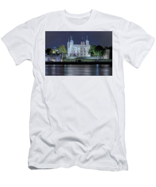 Tower Of London Men's T-Shirt (Slim Fit) by Joana Kruse