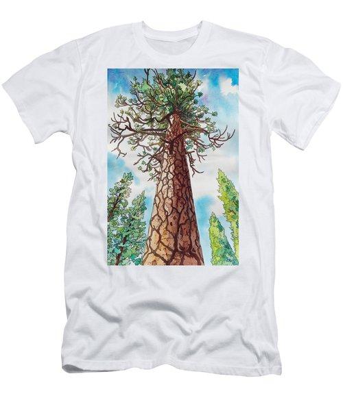 Towering Ponderosa Pine Men's T-Shirt (Athletic Fit)
