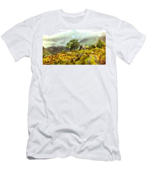 Traditional Ireland Men's T-Shirt (Slim Fit) by Mario Carini