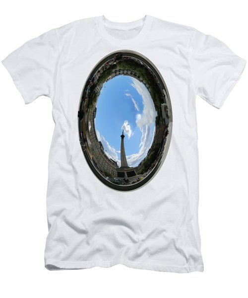 Trafalgar Square Oval Men's T-Shirt (Athletic Fit)