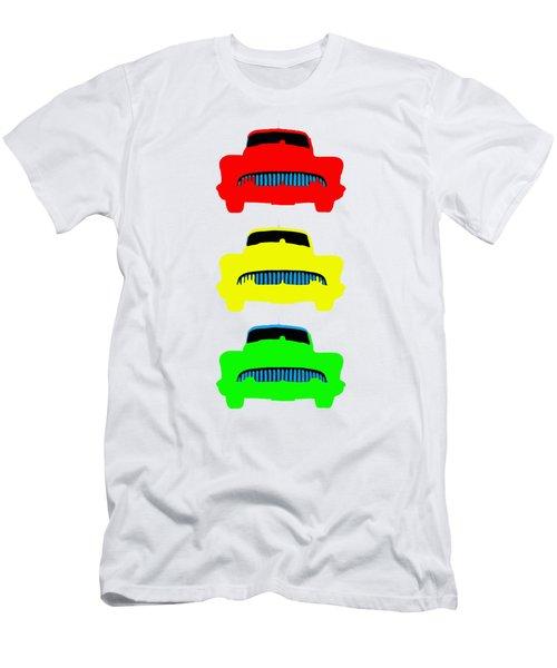 Traffic Light Cars Phone Case Men's T-Shirt (Athletic Fit)