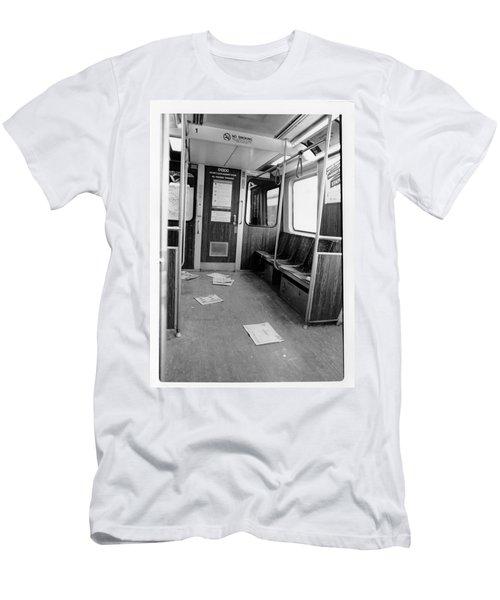 Train Car  Men's T-Shirt (Athletic Fit)