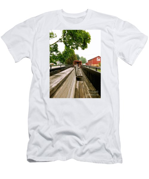 Train Ride Men's T-Shirt (Athletic Fit)