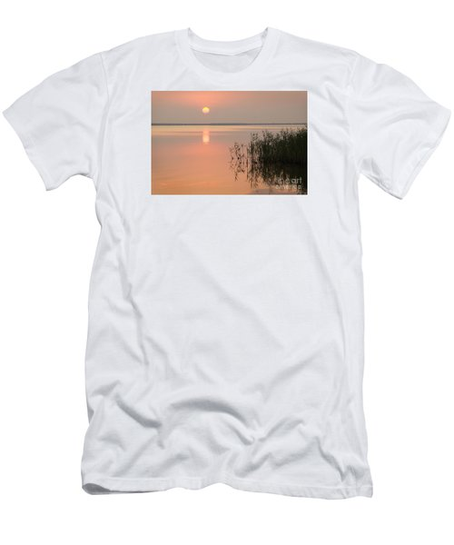 Men's T-Shirt (Slim Fit) featuring the photograph Tranquility by Inge Riis McDonald