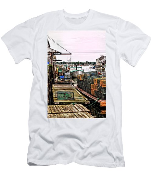 Traps Portland Maine Men's T-Shirt (Athletic Fit)