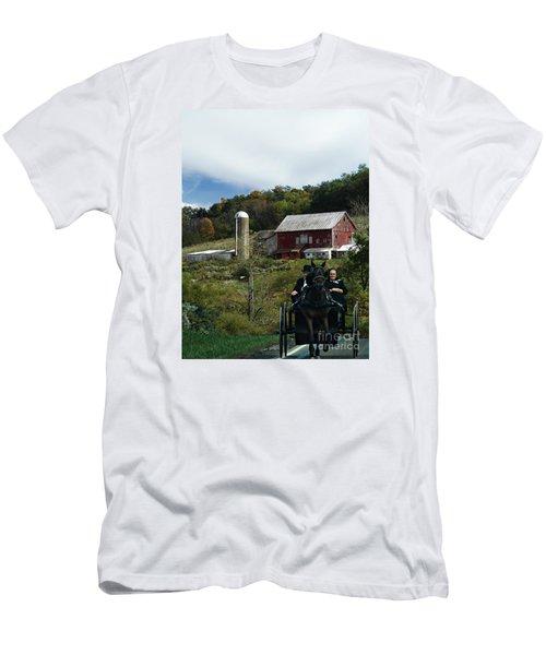 Travel Men's T-Shirt (Athletic Fit)