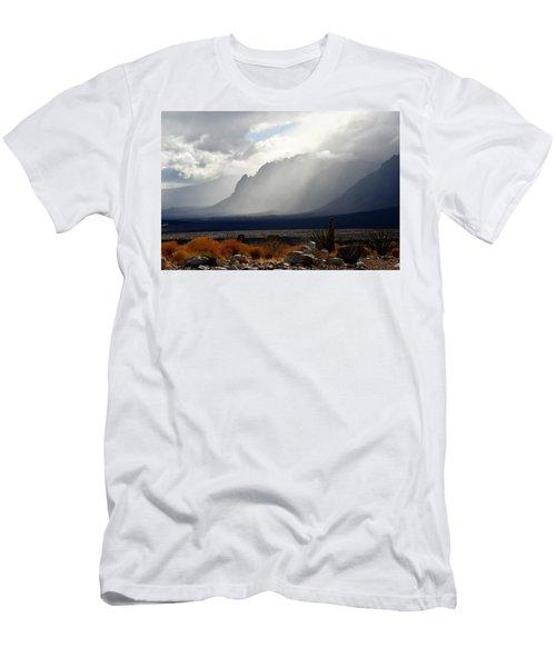 Tread Lightly Men's T-Shirt (Slim Fit) by John Glass