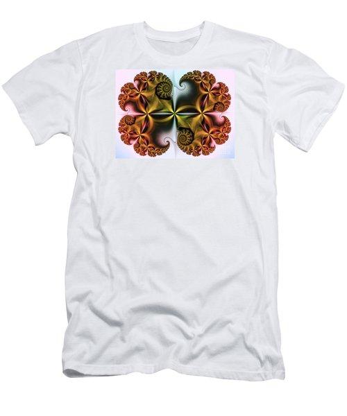 Men's T-Shirt (Slim Fit) featuring the digital art Treasure by Karin Kuhlmann