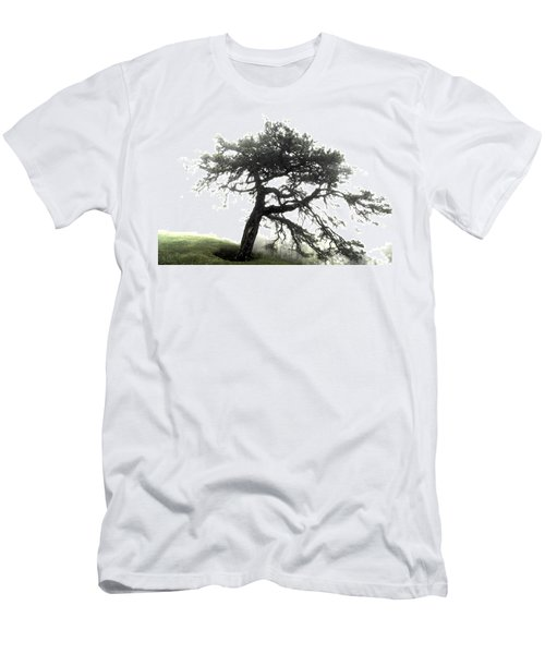 Men's T-Shirt (Slim Fit) featuring the photograph Tree by Alex Grichenko