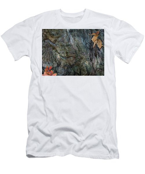 Men's T-Shirt (Slim Fit) featuring the photograph Tree Memories # 33 by Ed Hall