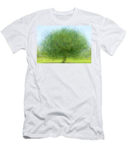 Tree Of Joy Men's T-Shirt (Slim Fit)