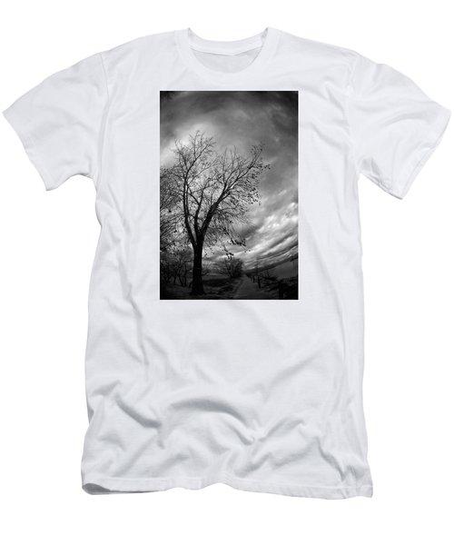 Tree 4 Men's T-Shirt (Slim Fit) by Simone Ochrym