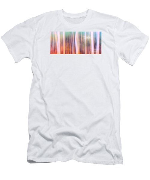 Men's T-Shirt (Slim Fit) featuring the photograph Tree Star Abstract by Clare VanderVeen