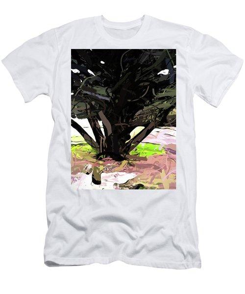 Trees 1 Men's T-Shirt (Athletic Fit)
