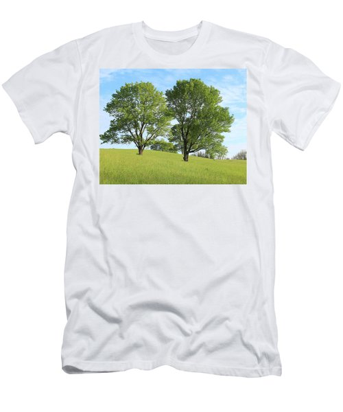 Summer Trees 4 Men's T-Shirt (Athletic Fit)