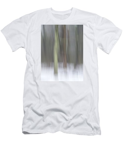 Trees In Fog II Men's T-Shirt (Athletic Fit)
