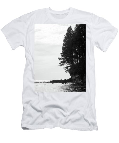 Trees Over The Ocean Men's T-Shirt (Athletic Fit)