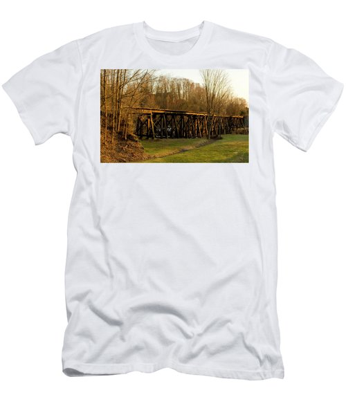 Tressel View Sunset  Men's T-Shirt (Athletic Fit)