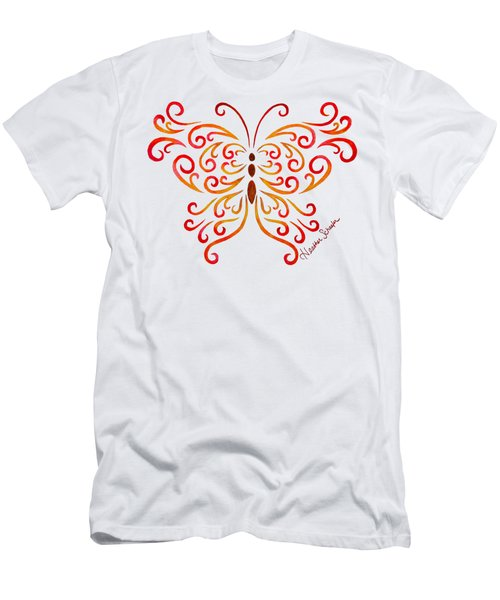 Tribal Butterfly Men's T-Shirt (Athletic Fit)
