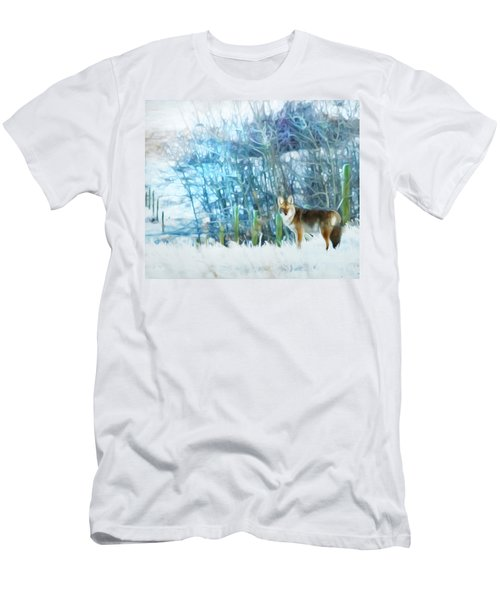 Trickster Coyote Men's T-Shirt (Athletic Fit)