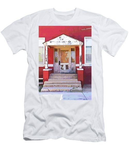 Men's T-Shirt (Slim Fit) featuring the photograph Trinity Or Trinidad by Cynthia Powell