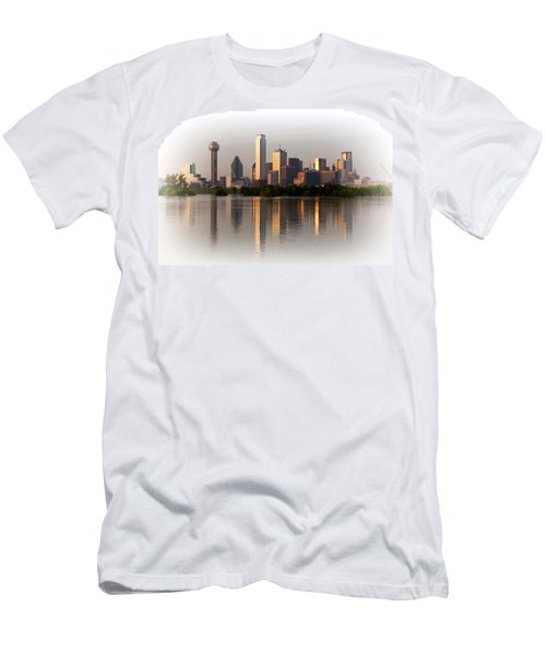Trinity River Dallas 4 Men's T-Shirt (Athletic Fit)