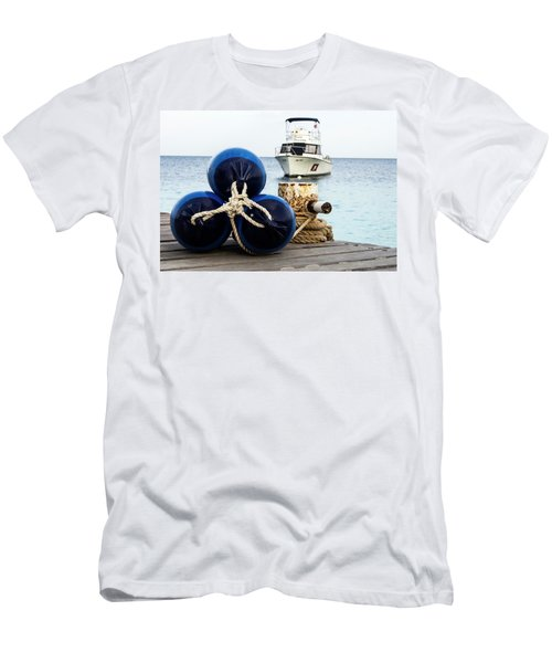 Men's T-Shirt (Slim Fit) featuring the photograph Triple Bumpers by Jean Noren