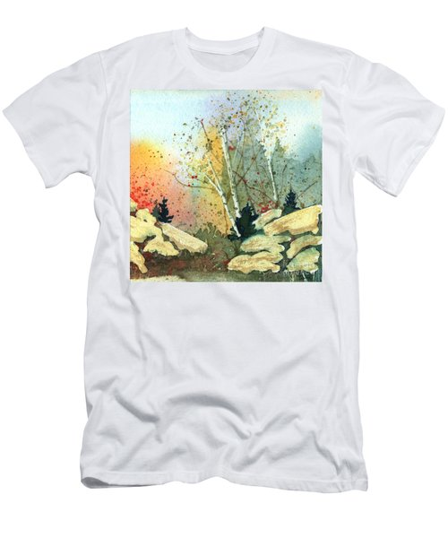 Triptych Panel 3 Men's T-Shirt (Athletic Fit)