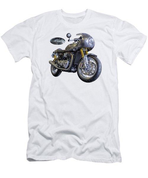 Triumph Thruxton R Men's T-Shirt (Athletic Fit)