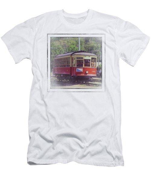 Trolley Car 42 Men's T-Shirt (Athletic Fit)
