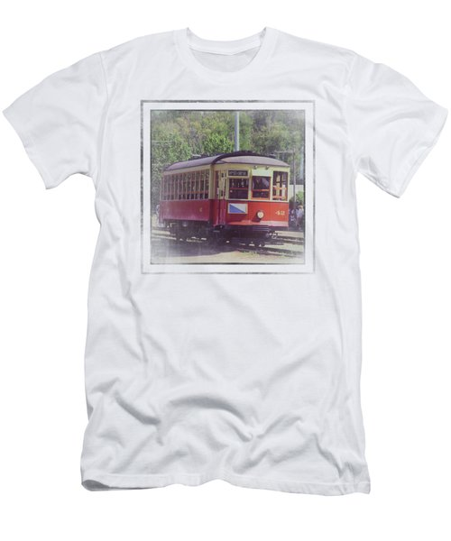 Trolley Car 42 Men's T-Shirt (Athletic Fit)