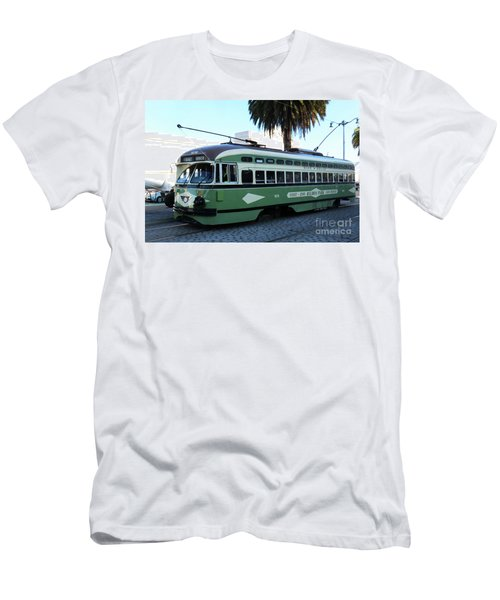 Trolley Number 1078 Men's T-Shirt (Athletic Fit)