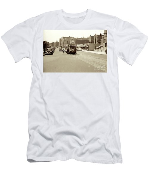 Trolley Time Men's T-Shirt (Athletic Fit)