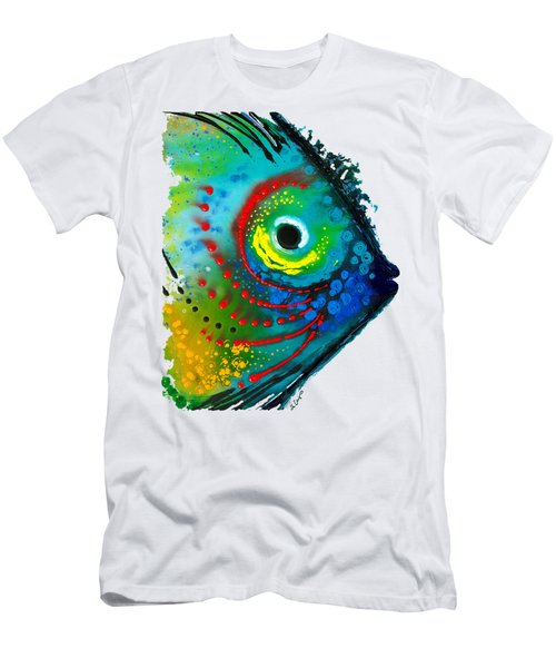 Tropical Fish - Art By Sharon Cummings Men's T-Shirt (Athletic Fit)