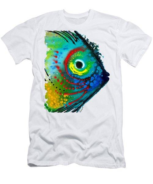 Tropical Fish - Art By Sharon Cummings Men's T-Shirt (Athletic Fit)