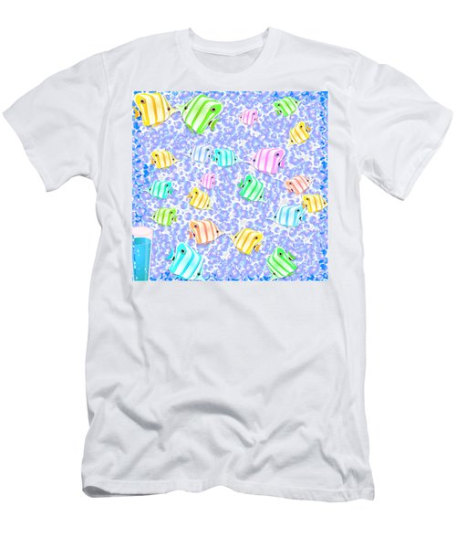 9822efa8 Men's T-Shirt (Athletic Fit) featuring the digital art Tropical Fish by  Jacqueline