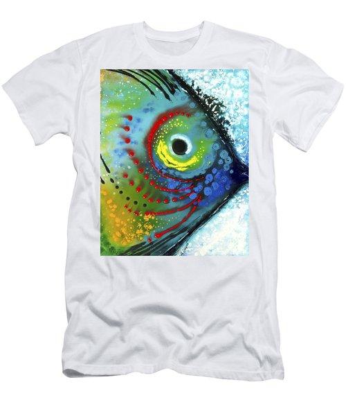 Tropical Fish Men's T-Shirt (Athletic Fit)