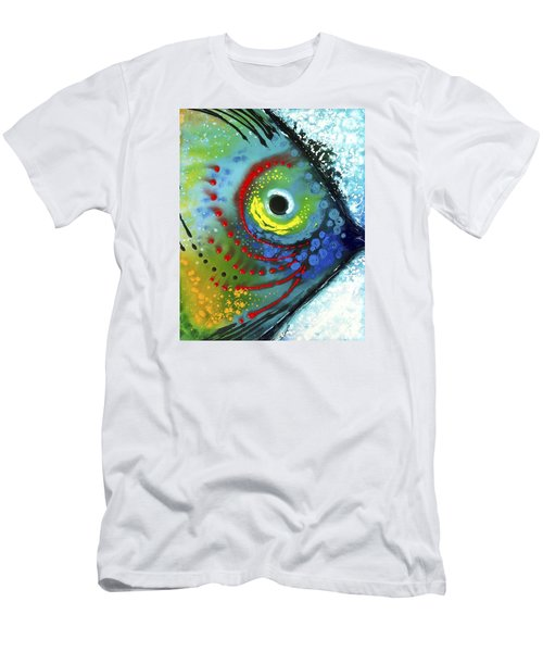 Tropical Fish Men's T-Shirt (Athletic Fit)