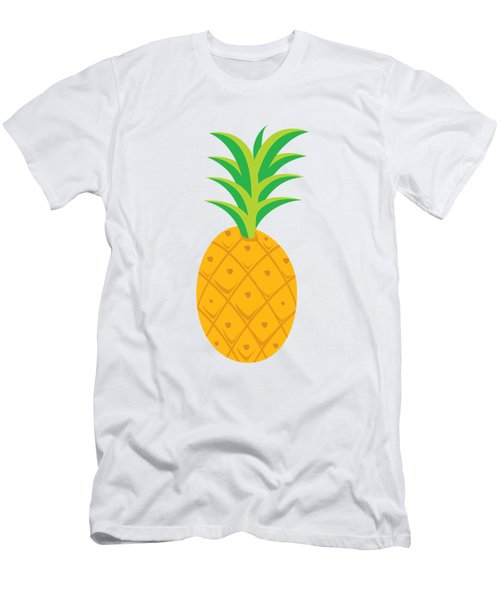 Tropical Fruits Ananas Pineapple Men's T-Shirt (Athletic Fit)