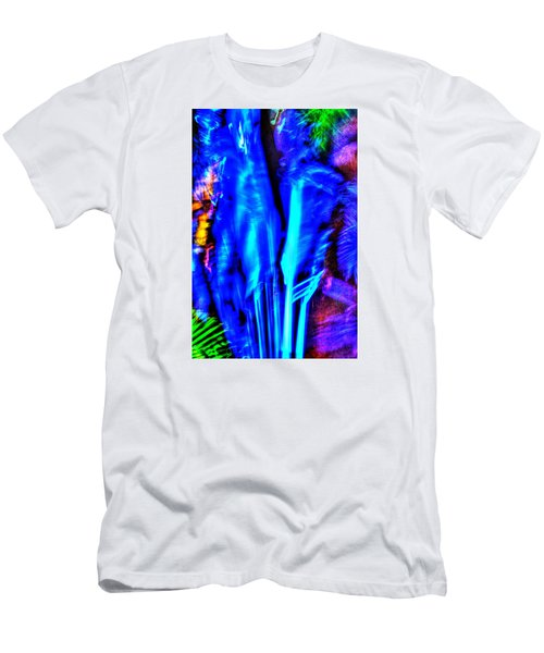Men's T-Shirt (Slim Fit) featuring the photograph Tropical Lightshow  by Richard Ortolano