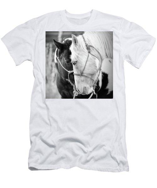 Men's T-Shirt (Slim Fit) featuring the photograph True Friends by Sharon Jones