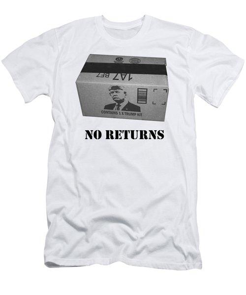 Trump Box Men's T-Shirt (Slim Fit) by Roger Lighterness