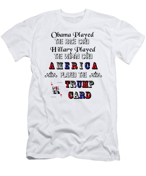 Trump Card Men's T-Shirt (Athletic Fit)