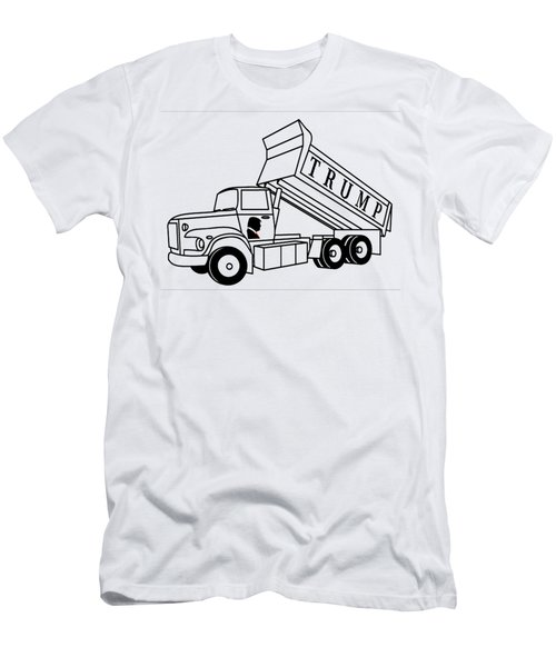 Trump Dump Truck Men's T-Shirt (Athletic Fit)