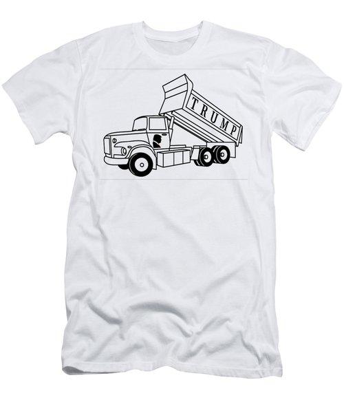 Trump Dump Truck Men's T-Shirt (Athletic Fit)