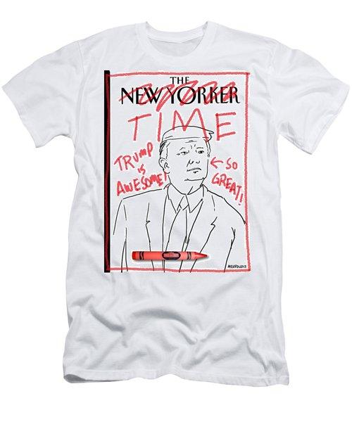 Trump Time Men's T-Shirt (Athletic Fit)