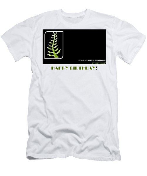 Trust In God Men's T-Shirt (Athletic Fit)