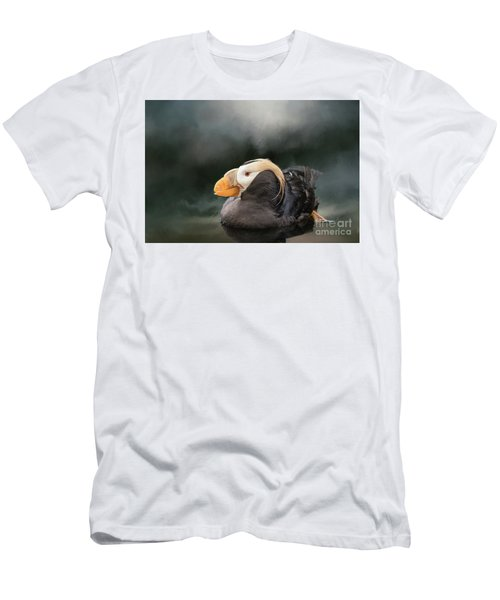 Tufted Puffin Men's T-Shirt (Athletic Fit)